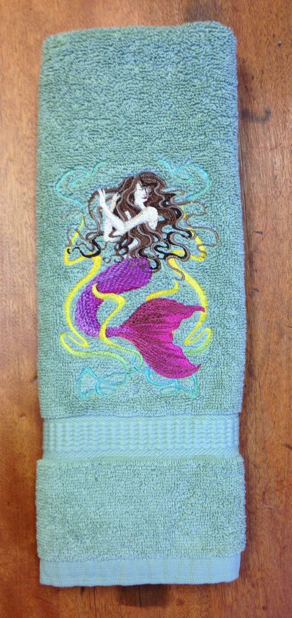 I recently did this design as a custom order for a customer and I fell in. The 25  best Green Hand Towels trending ideas on Pinterest   Teal