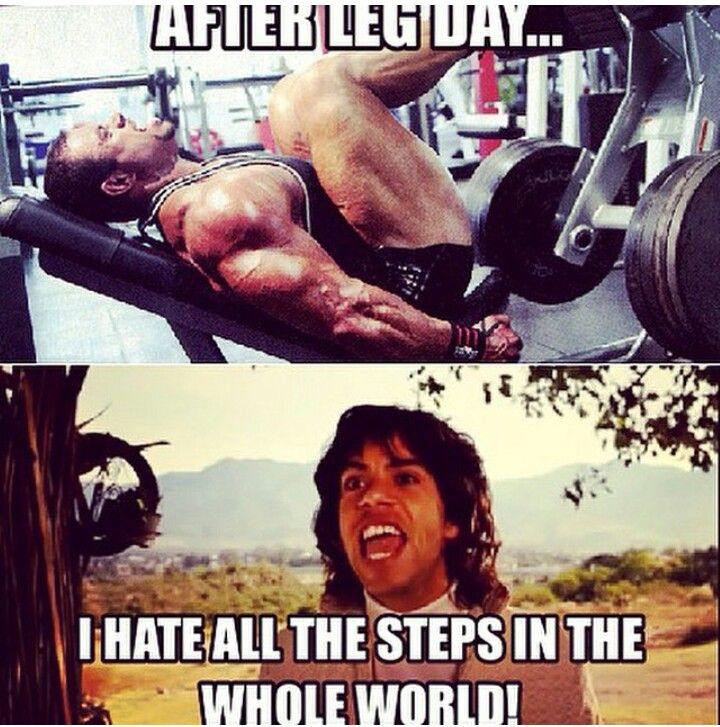 Gym humor....leg day