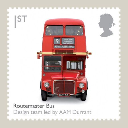 Britain's Royal Mail has issued a set of ten stamps celebrating 20th-century British design classics.