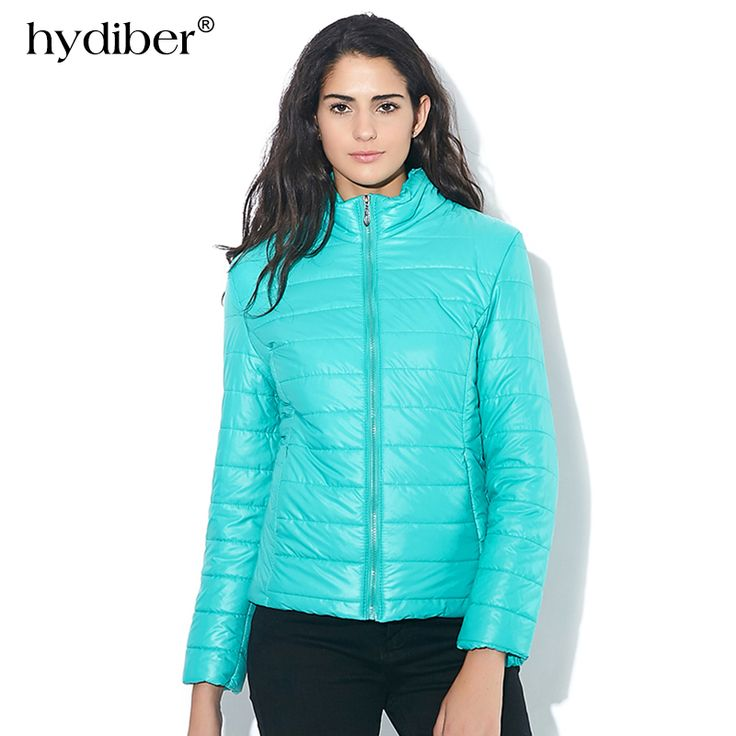 ==> [Free Shipping] Buy Best HYDIBER 2017 Winter New brand Candy colors Stand Collar women jacket keep warm padded fashion casual Slim padded winter jacket Online with LOWEST Price | 32665748371