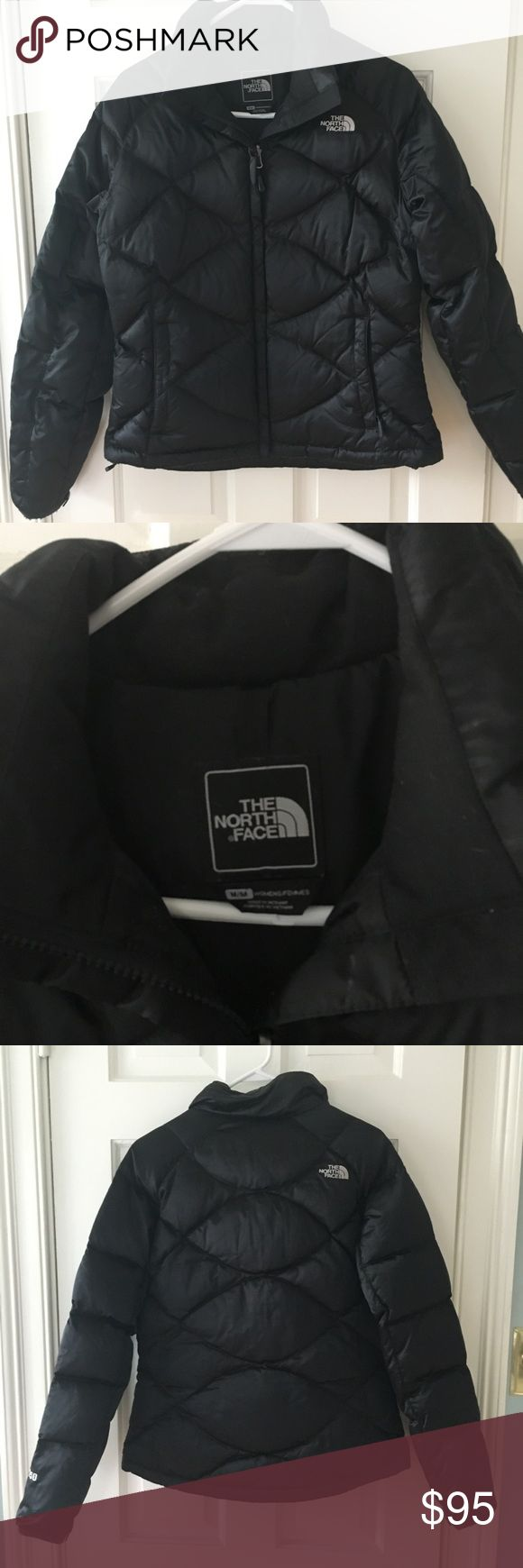 The North Face ladies down jacket.  Like new. Black down jacket.  Barely worn.  Ladies winter jacket.  The North Face. The North Face Jackets & Coats Puffers
