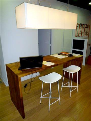 bureau plan de travail bureau flip design boisflip design bois
