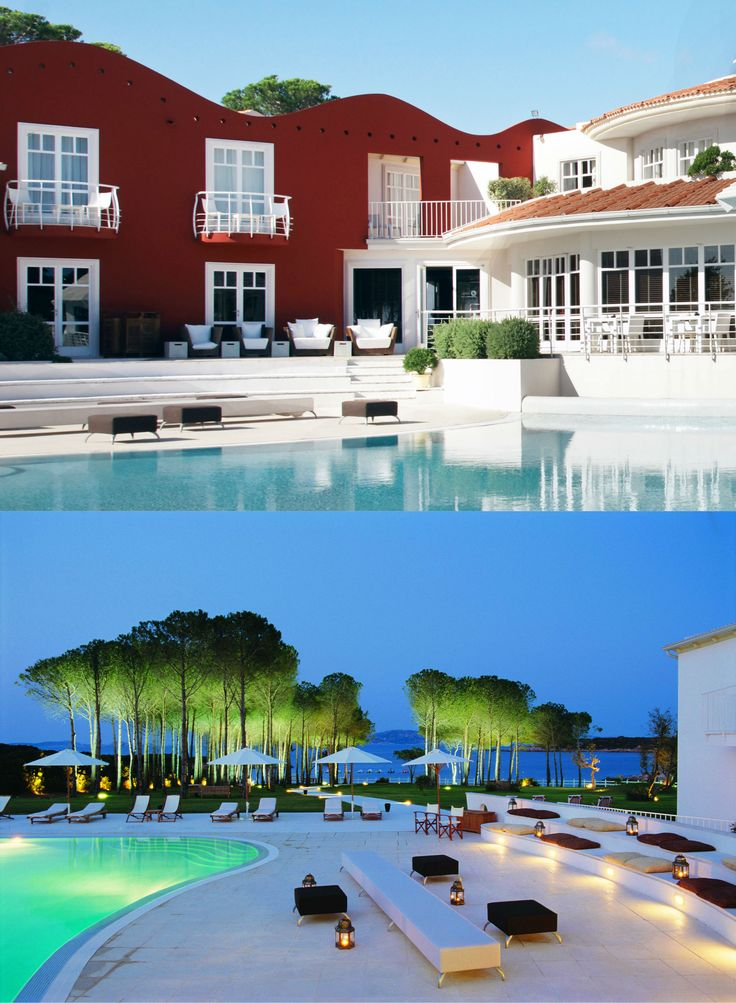 La Coluccia Hotel | Boutique Hotel | Italy | http://lifestylehotels.net/en/la-coluccia-hotel-beach-club | Sardinia | Pool by night | Garden | Pines