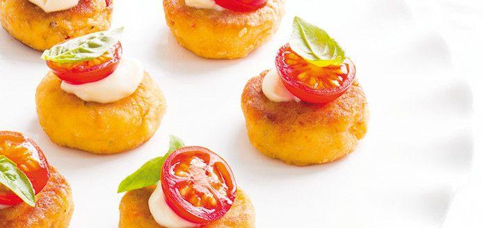 Bouchées de crabcakes Recettes   Ricardo