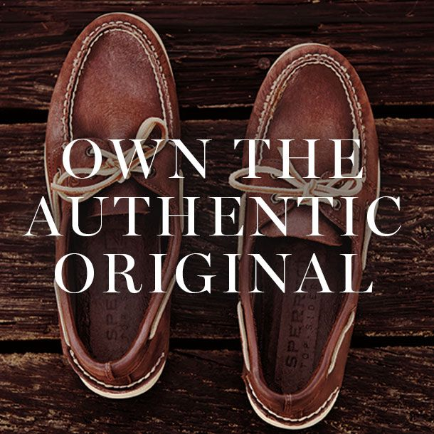 The Authentic Original Since 1935 #sperry