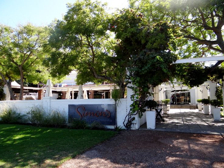 Nestled in the Constantia Valley on the grounds of Groot Constantia Estate you'll find Simon's Restaurant, where good food and great wine are on the menu. Who could ask for more?
