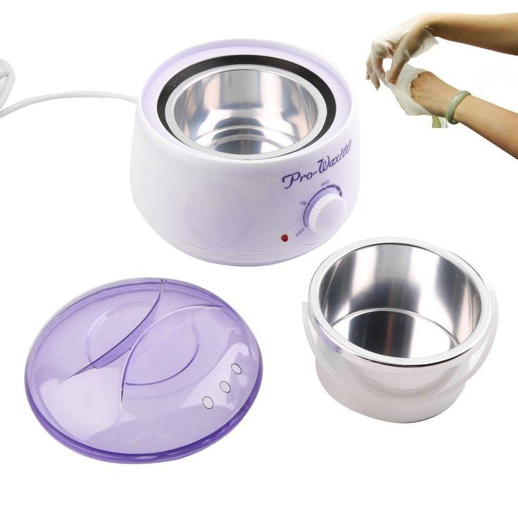 Parafina calentador depilación y de la cera calentador de 500 ML olla pelo del removedor y del parafina terapia de la cera depilatoria Salon herramienta de la belleza