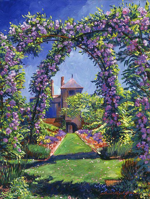 Romance Of The Rose Arbor Art Board International Art