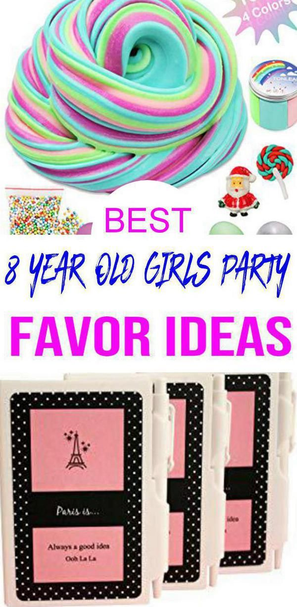 Best 8 Year Old Girls Party Favor Ideas Girls Party Favors Girls Birthday Party Themes Girl Birthday Themes
