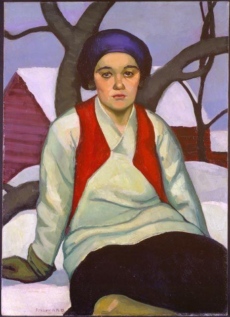 Prudence Heward. Anna v. 1927. Musée des beaux-arts du Canada