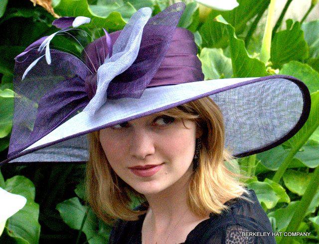 coy chic in derby hat