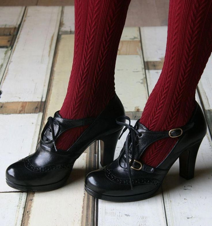 CHIE MIHARA SHOES SANO BLACK LEATHER OXFORD PUMP L…