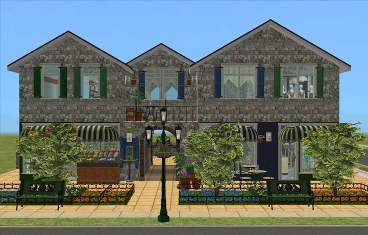 Mod The Sims - Bistro Reims - Bistro, Grocery & Boutique Stores