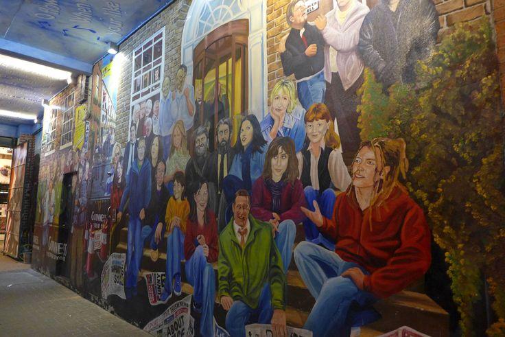 Murs peints à Belfast (Cathedral Quarter) - Irlande