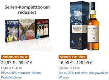 """Amazon: Serien-Komplettboxen für einen Tag ab 24,97 Euro zu haben https://www.discountfan.de/artikel/technik_und_haushalt/amazon-serien-komplettboxen-fuer-einen-tag-ab-24-97-euro-zu-haben.php Bei Amazon sind am heutigen Mittwoch Serien-Komplettboxen zu Schnäppchenpreisen zu haben – mit dabei sind die """"Biene Maja"""" und die """"Gilmore Girls"""". Außerdem im Angebot: Acer-Monitore und Whisky-Schnäppchen. Amazon: Serien-Komplettboxen für einen"""