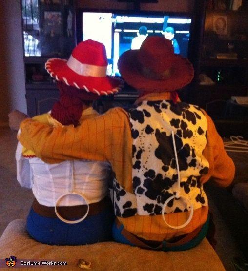 Woody & Jessie - Halloween Costume Contest via @costume_works