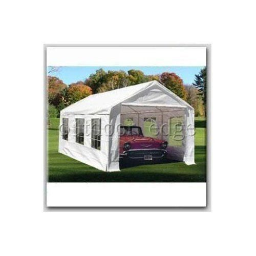 Quictent® 20×10 Heavy Duty Portable Carport Canopy Party Tent With Windows White