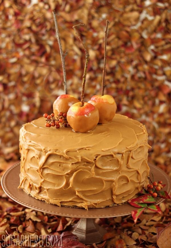1) This caramel apple cake looks wonderful and amazing and life changing. 2) The blogger is hilarious. 3) I need mini apples in my life. My toddler is obsessed with eating apples whole but the big ones are difficult to handle!