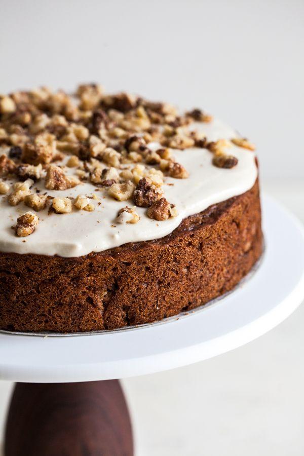 Eggless Gluten Free Carrot Cake Recipe