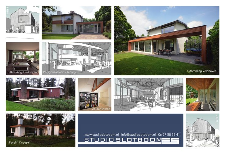 Studio Slotboom een bouwkundig ontwerpbureau met een persoonlijke benadering waarbij betrokkenheid, kwaliteit en vakkundigheid de uitgangspunten zijn. Ik wil graag samen met u uw droomhuis realiseren!