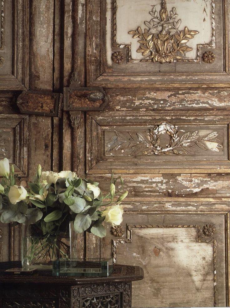 .Old door