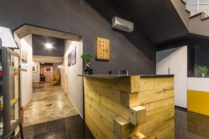 КОВОРКИНГ И ХОСТЕЛ «ДЕРЕВО» НА ПАВЕЛЕЦКОЙ НАБЕРЕЖНОЙ. Изготовление мебели для хостелов, коворкингов. Проектирование хостелов в Москве