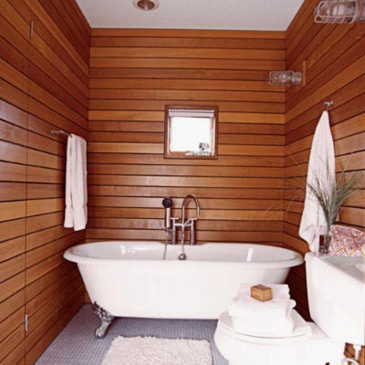 отделка санузла в деревянном доме фото лица