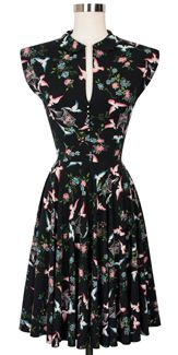 Trashy Diva Hopscotch Dress cg-d08-22circ-lovebirds