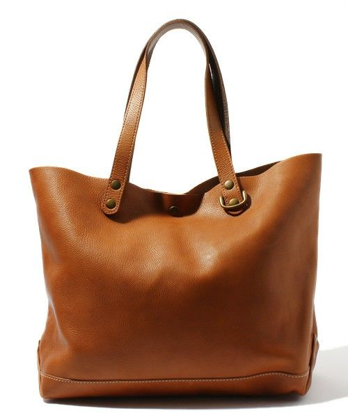DOORS leather tote bag URBAN RESEARCH DOORS MENS of (Urban Research Doors Men) (tote bag) | Brown