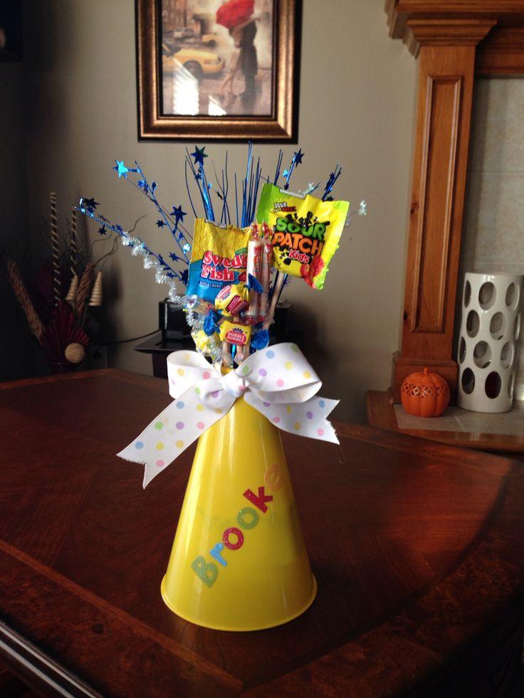 Megaphone Candy Bouquet                                                                                                                                                                                 More