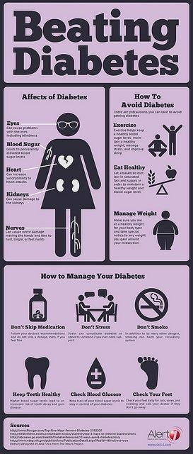 #Diabetes #Infographic - change title, is misleading