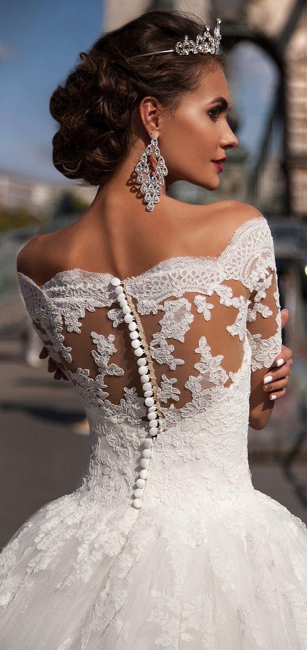 Milla Nova 2016 Bridal Wedding Dresses / http://www.deerpearlflowers.com/milla-nova-wedding-dresses/5/