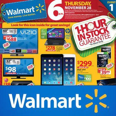 Black Friday 2014: Walmart Doorbuster Deals