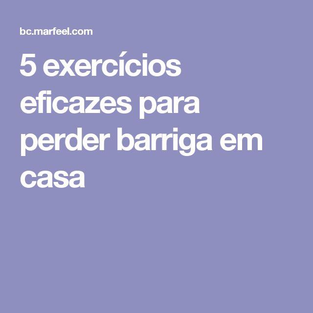 5 exercícios eficazes para perder barriga em casa