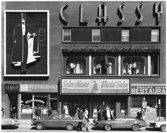 Gabor Szilasi, Classy, Phillips Square, Montreal, 1977