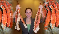 You can order King Crab legs from this site - direct from Alaska!