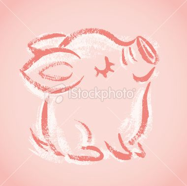 It always occurs to me that the small things in life are adorable! Life can be enjoyed with them around! When your happy, they are happy. And a pig is something I have always wanted to have.