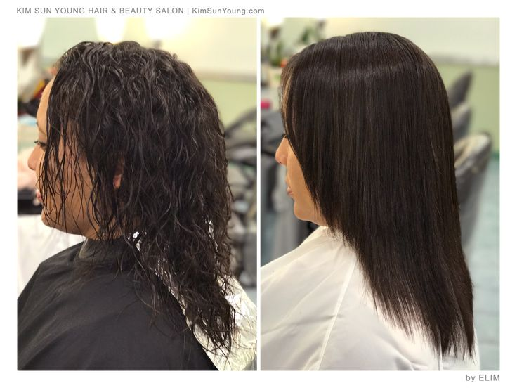 Magic Straight Perm Elim Heo Ksy Hair Stylist
