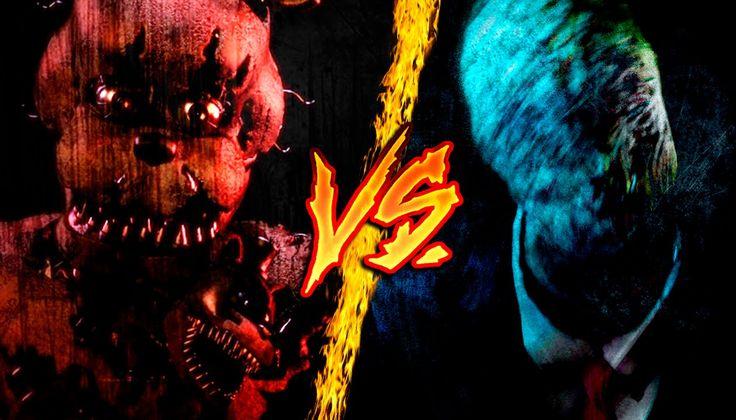 Freddy Fazbear Vs. Slenderman || Combates Mortales de Rap || Jay-F