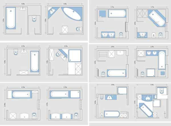 Die besten 25+ Bad grundriss Ideen auf Pinterest Badezimmer - badezimmer 3x3 meter