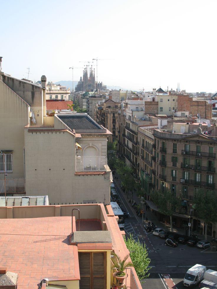 Rooftops Barcelona