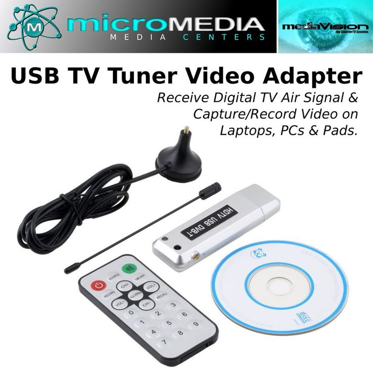 USB 2.0 Digital TV Stick -Tuner Receiver Adapter Dongle Wand TV DVB-T FREE SHIP! #MediaVision
