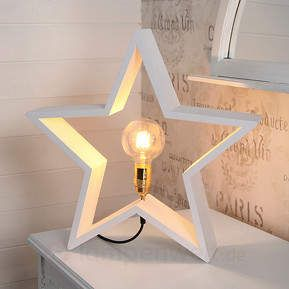 Deko-Stern mit Lampenfassung #stern #star #lampe #lamp #homedecor #ad
