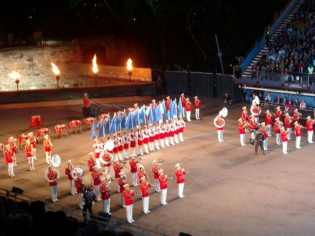 Royal Edinburgh Military Tattoo   Flickr - Photo Sharing! This is a must see on a visit to Edinburgh in August You can walk to this event whilst staying at Craigwell Cottage www.2edinburgh.co.uk