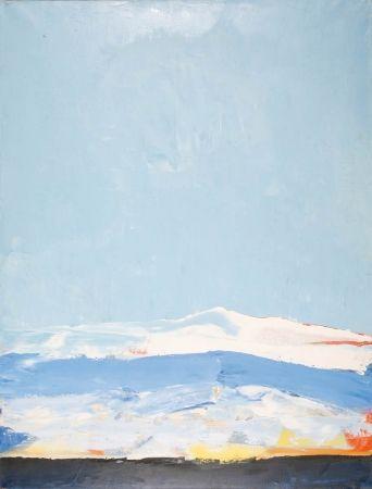 Nicolas de STAËL (1914-1955), Landscape, Antibes, 1955, oil on canvas, 116 x 89 cm. © MuMa Le Havre / Charles Maslard — © ADAGP, Paris, 2013