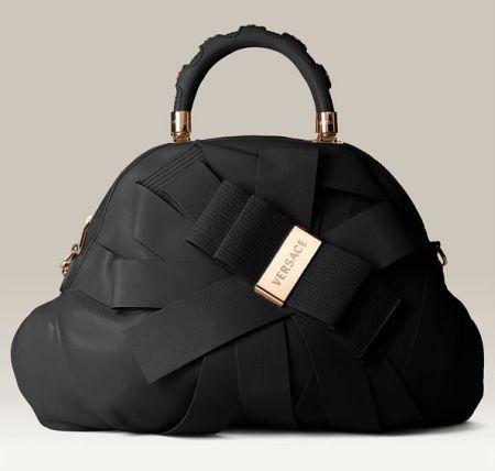 Designer Purses and Handbags | versace-venita-bow-satchel
