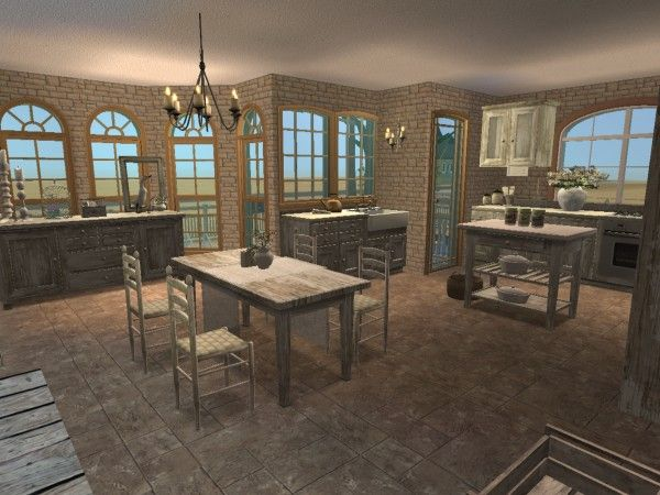 brocante kitchen and dining room virtual room design home