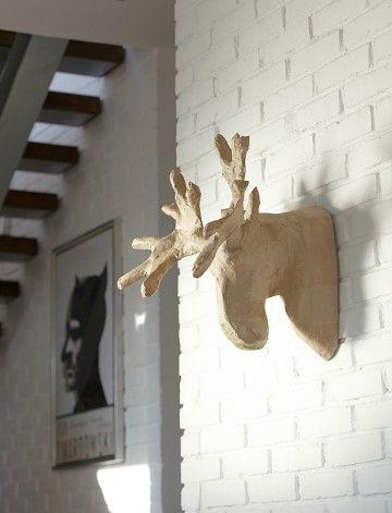 dekoracje - na ścianę-Łoś