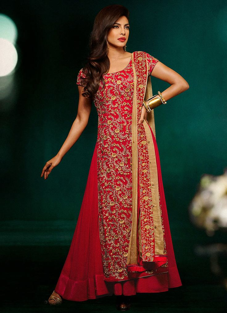 Menlo Park Indian Amp Fashion Priyanka Chopra Saree