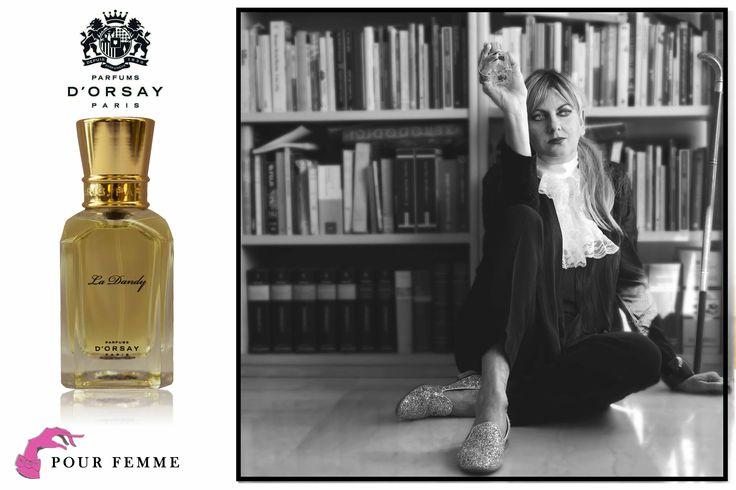 La #Compagnie française des #Parfums d'Orsay di #Parigi, tramite la sua direttrice #MarieHuet, ha scelto la scrittrice  #PatriziaFinucciGallo per raccontare il profumo #LaDandy, una fragranza per le #donne audaci e #glamour che incarna  l'eleganza dei salotti culturali di Parigi.http://bit.ly/1uXsZGr